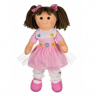 Bambola My Doll Katy Scarpa Fissa Rosa Pettorina e Cintura con