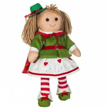 Bambola My Doll Roxanne Giacca Verde e Gonna Bianca con Ricami